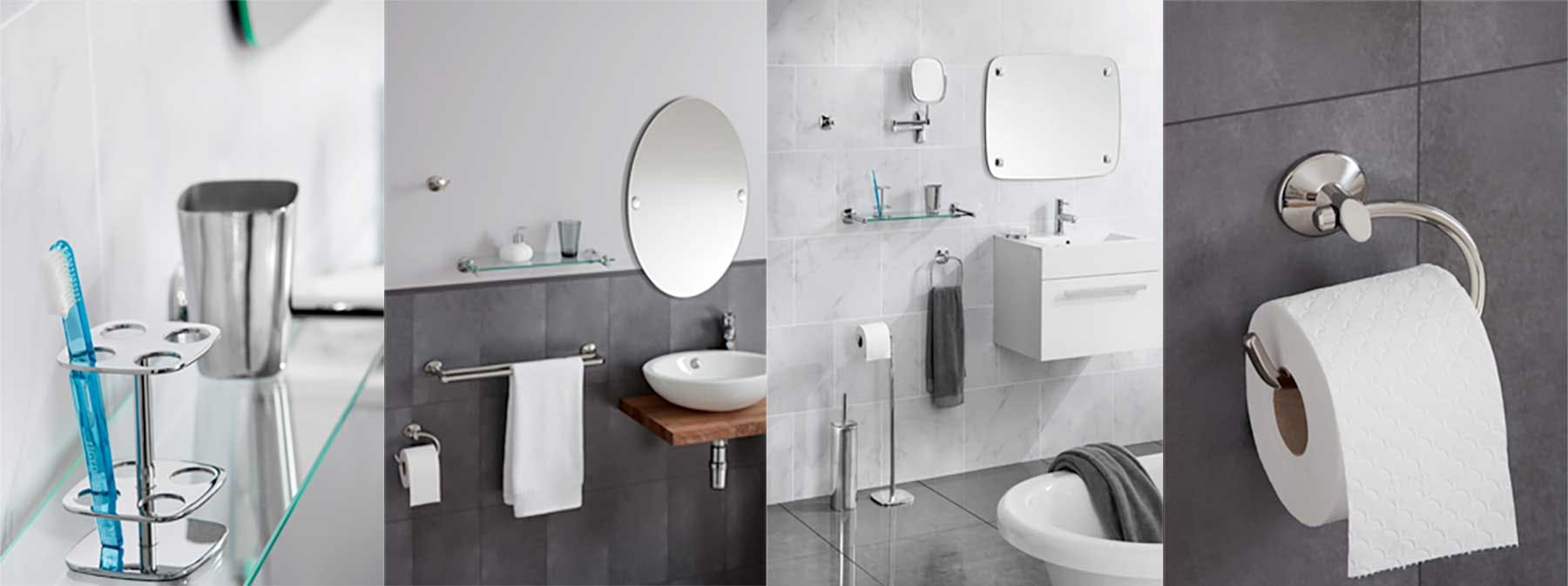 Refresh your bathroom with Robert Welch fittings and accessories...