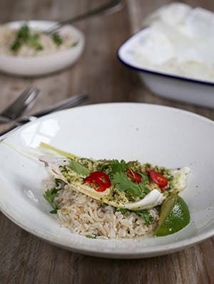 Signature Recipes | Lemongrass & chilli seabass en pappilotte