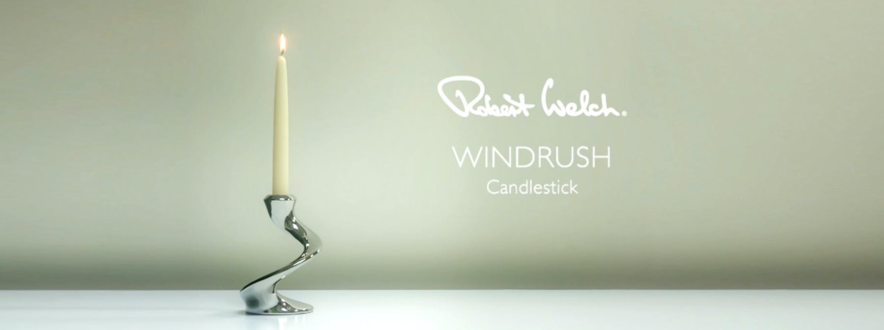 Windrush candlesticks; a gift newlyweds can treasure.