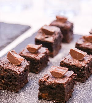 Rolo Chocolate Brownies...